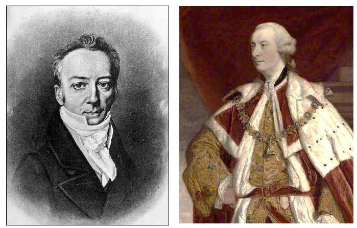 James Smithson, whose bequest founded the Smithsonian, was the illegitimate brother of the first Duke of Northumberland.