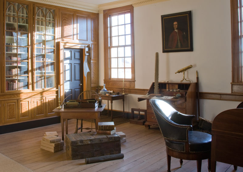 Washington's library at Mount Vernon.