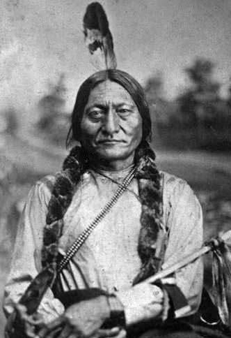 Sitting Bull, Chief of the Lakota Sioux