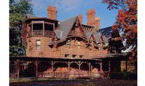 Mark Twain House and Museum in Hartford, Connecticut