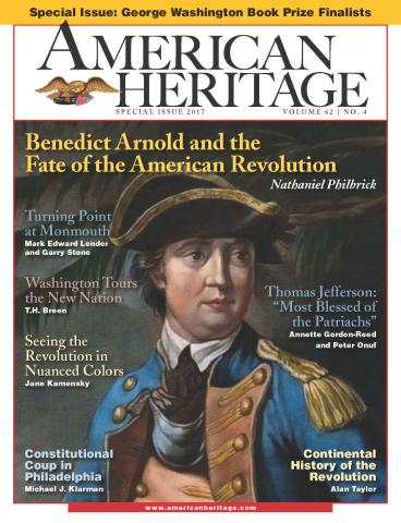 Special George Washington Prize issue of American Heritage