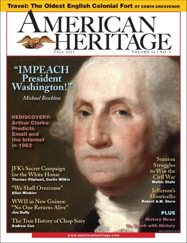 American Heritage cover Fall 2017