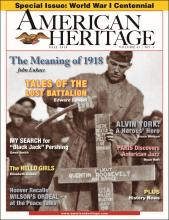 Fall 2018 - World War I Special Issue