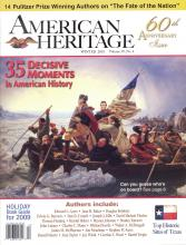 The 60th Anniversary Issue of American Heritage, with 14 Pulitzer Prize-winning authors