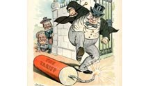 Tariff Cartoon, American Heritage Archives