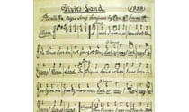 Dixie's Land: Original Handwritten Composition
