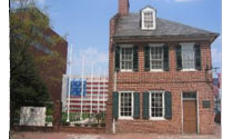 Star Spangled Banner Flag House in Baltimore, Maryland