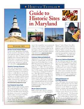 Maryland Historic Guide