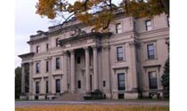 Vanderbilt Mansion National Historic Site in Hyde Park, New York